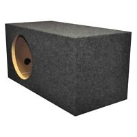 """QPower 12"""" Heavy Duty Series Xtra Large Vented Subwoofer Box"""