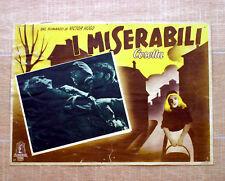 I MISERABILI fotobusta poster Cosetta Les misérables S30