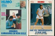 HUMO 2490 (26/5/88) urbanus JAN WOLKERS INXS ROBERT REDFORD DIANA ROSS LANDSBURY
