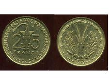 ETATS DE L'AFRIQUE DE L'OUEST  25 francs 1979  ( SUP )   ( bis )