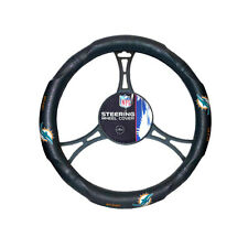 New NFL Miami Dolphins Synthetic leather Car Truck Steering Wheel Cover
