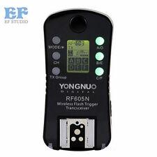 Yongnuo RF-605 N Wireless Flash Trigger for Yongnuo YN-560 III RF-603 II Nikon