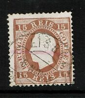 Portugal SC# 38, Used, Center Thin, Minor Toning - Lot 073017