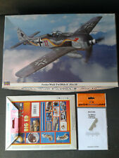 Hasegawa 1/32 Focke-Wulf FW 190 A8 JGr10+ Eduard BigEd+Quickboost Exhaust