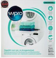kit sovrapposizione lavatrice asciugatrice whirlpool indesit hotpoint vassoio