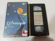 EL PRINCIPITO ANTOINE DE SAINT EXUPERY 1983 ANIMACION - VHS CINTA TAPE ESPAÑOL