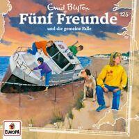 FÜNF FREUNDE - FOLGE 125: DIE GEMEINE FALLE   CD NEW