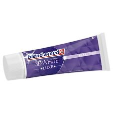 BLEND-A-MED - Toothpaste 3 D White Luxe - Pearl Shine - 75 ml - German