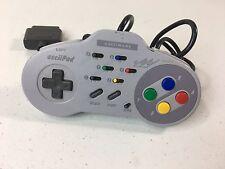 V- Super Nintendo SNES ASCiiPAD Turbo Slomo AsciiwareVideo Game Controller