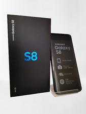 Samsung Galaxy S8 schwarz Android  Smartphone ohne Simlock 5,8