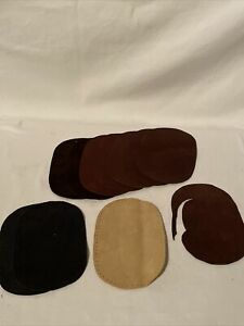 (11) SUEDE LEATHER ELBOW PATCHES