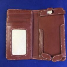 White Wing ~ iPhone 6 Wallet ~ Genuine Leather ~ Chestnut ~ NWT ~ Free Shipping!