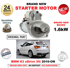 FOR BMW X3 xDrive 35 i STARTER MOTOR 2010-ON 1.6kW BRAND NEW ** OE QUALITY **