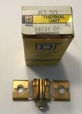 Square D B3.30 Overload Relay Thermal Unit- New in Box