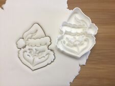 The Grinch Cookie Cutter Biscuit, Pastry, Fondant Cutter