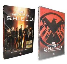 Agents of S.H.I.E.L.D SHIELD. Complete Seasons 1 & 2 (DVD, 2015, 10-Disc) BUNDLE