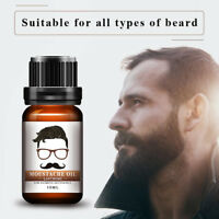 100% Natural Beard Oil Balm Moustache Wax For Styling Beeswax Moisturizing AQ2G