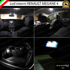 KIT LED INTERNI ABITACOLO RENAULT MEGANE 4 CONVERSIONE COMPLETA + LUCI TARGA LED