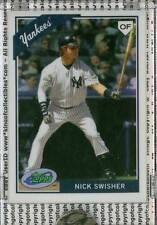 NICK SWISHER 2009 eTopps #45 New York Yankees IN HAND #/699 Cleveland Indians