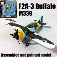 Easy Model WWII Finland F2A-3 Buffalo aircraft fighter plane 1/72 no diecast