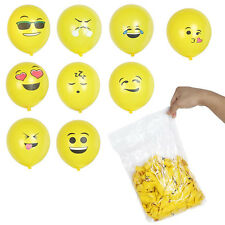 12Pcs Latex Balloon Funny emoji Smiley Air Balloon Wedding Birthday Party Decor