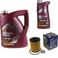 Ölwechsel Set 6L MANNOL Energy Premium 5W-30 Motoröl + SCT Filter KIT 10190768
