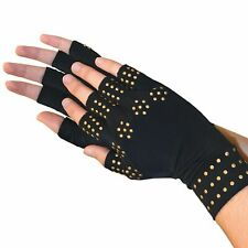 Magnetic Arthritis Gloves Compression Therapy Rheumatoid Hand Pain Relief UK