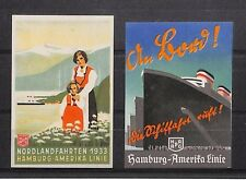 A232 c.1933 Maritime USA to Germany Postcards {samwells-covers}