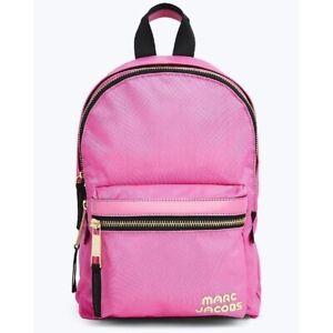 Marc Jacobs Trek Pack Vivid Mini Nylon Pink Backpack