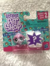 Littlest Pet Shop Series 2 2-pack 2-86 Chunky Waterfluff & 2-87 Mayor Perrito