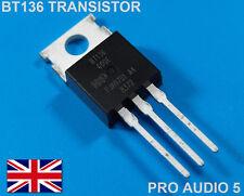 4x bt136 600e Transistor Triac 600v 4a To-220 (4pcs) bt136-600 - postales del Reino Unido