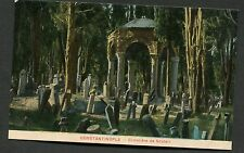 C1920's View of the Cemetery, Uskudar District, Istanbul