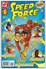 SPEED FORCE #1 DC Nov 1997 NM/MT 9.8 W 1st App COBALT BLUE! JESSE QUICK App B/O