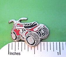 ATV 3 wheeler - hat pin , tie tac , lapel pin, hatpin   (red) (S)  GIFT BOXED