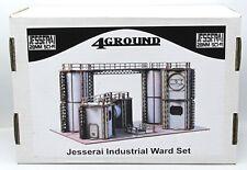4Ground 28S-JES-S3 Jesserai Industrial Ward Set (No Magnets) 28mm Sci-Fi Terrain