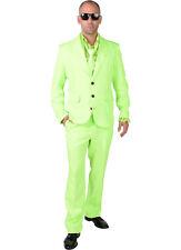 Mr Green  - Fluorescent  Suit + Tie