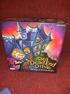 1313 Dead End Drive Board Game for parts