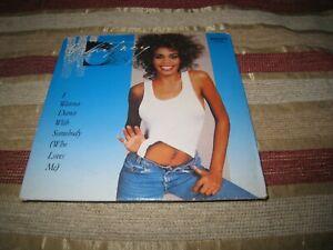 WHITNEY HOUSTON I WANNA DANCE WITH SOMEBODY USED 1987 CARD SLEEVE UK CD SINGLE.