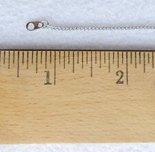 """Thin 18"""" Eighteen inch Stainless Steel Jewelry Chain with spring ring clasp NEW"""