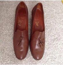 Barker's Women's Scarpe Marroni in Pelle Misura 5.5 A/75/38.5 splendida qualità morbida