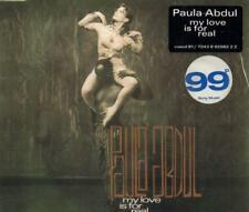 Paula; Ofra Haza Abdul(CD Single)My Love is for Real-New