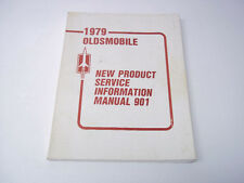 Handbuch Manual 901 New Product Information Oldsmobil  Ausgabe1979  original