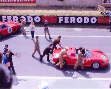 Fotografia-FERRARI 275P & 330lmb, Le Mans 1964