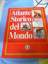 Atlante storico del mondo storia antica medievale moderna contemporanea Touring