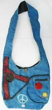 R340 New Trendy & Artistic Shoulder Drop Cotton Bag Hand Made in Nepal