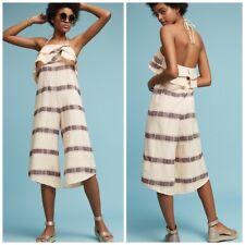 New ANTHROPOLOGIE Saturday Sunday Marina Jumpsuit  Size M  Retail $138.00