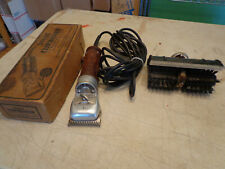 Stewart 51-2 Heavy Duty Cattle Clippers With Grooming Head In Original Box
