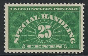Scott QE4- MH- 25c Special Handling- 1925-55- Back of Book stamp, mint