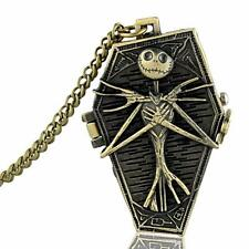 Jack Nightmare before Christmas Watch Antique style Necklace & Chain #PW10