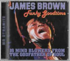 NEW SEALED CD JAMES BROWN live atlanta georgia 1984 funky goodtime SOUL LIVE